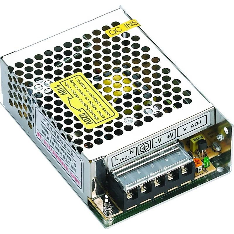 Transformador 220v 12v 5a for Transformadores de corriente 220v a 12v