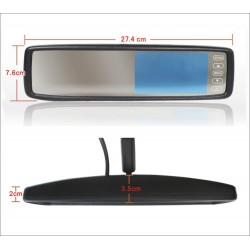 "Monitor espejo 4,3"" para AUDI"