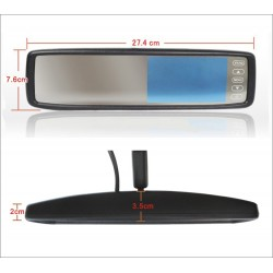 "Monitor espejo 4,3"" para Hyundai"