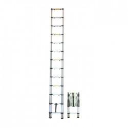 Escalera Aluminio Telescopica 3.8m