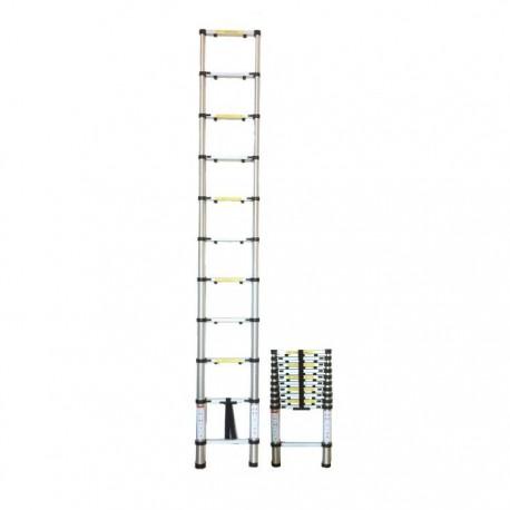 Escalera aluminio telesc pica for Oferta escalera aluminio