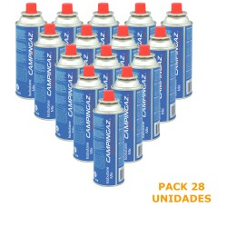 Pack 28 Gas Cartridges Camping Gaz CP250