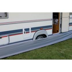 Caravan draught skirt 4.5m