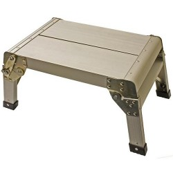 Escalón de caravana Plegable de Aluminio