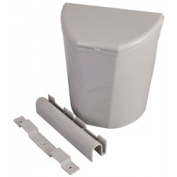 Dustie Bin With Brakets