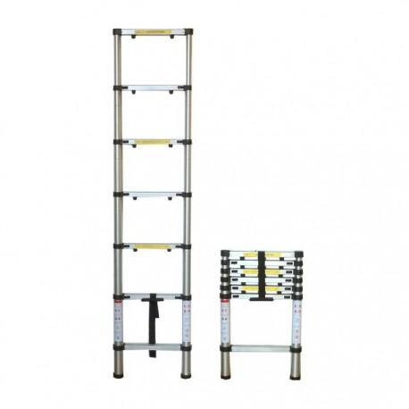 Aluminum Telescopic Ladder 2m