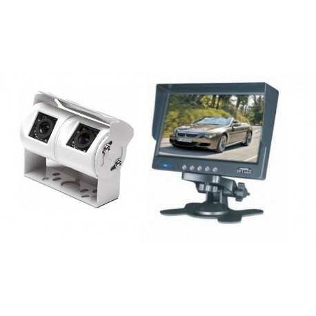 """Rear View Double Camera System IMARA Vision 7"""""""
