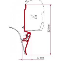 Adaptador Toldo F45 VW T3