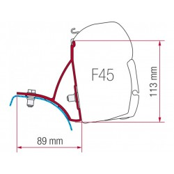 Adapter Fiamma F45 VW T3