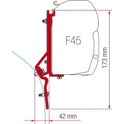 Adaptador Toldo F45 Ducato/Master/Iveco