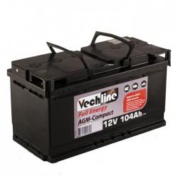 Batería camper AGM Full Energy Compact 104Ah