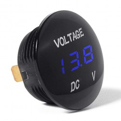 Digital recessed voltmeter