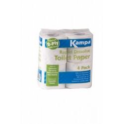 Rapid Dissolve Toilet Paper
