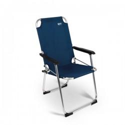 Chaise d´Camping Summer XL Bleu