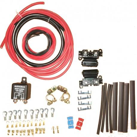 Deuxième kit d'installation de batterie avec relais manuel
