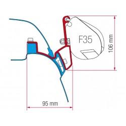 Adaptador F35 VW T5/T6 California
