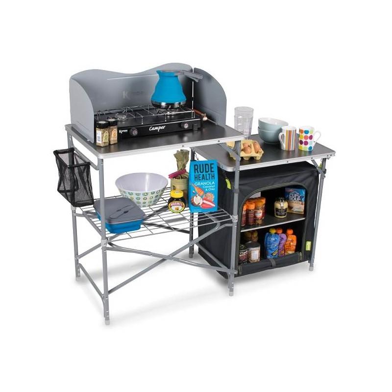 Mueble de cocina para camping kampa COMMANDER