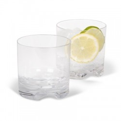 Tumbler type whiskey  (set of 4)