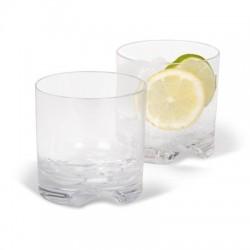 Vaso de policarbonato tipo whisky