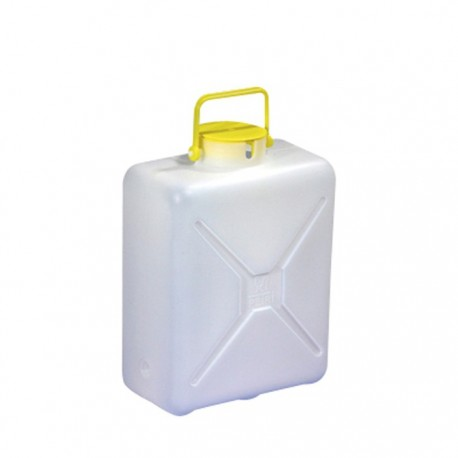 Jerrican d'eau sanitaire camping car 13 Litres