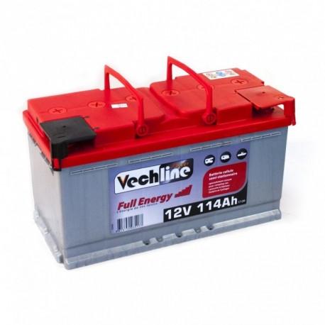 Camper battery semi-stationary cell Full Energy Start VECHLINE 114Ah