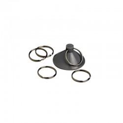 Kit 10 ventouses avec anneau HTD