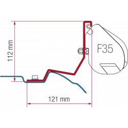 Adaptador toldo F35 para Mercedes Viano / Classe V
