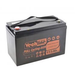 Batería camper Vechline de Ciclo Profundo Agm 115 Ah