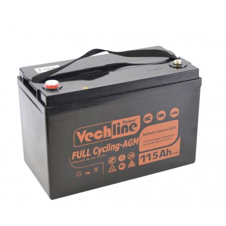 Batteria Vechline plein vélo Agm 110Ah