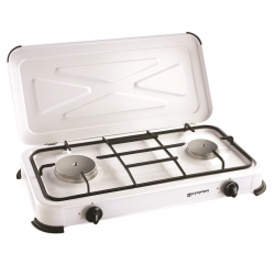2 burner stove with cover KEMPER