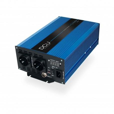 Convertisseur DCU 1000W 12V Onde sinusoïdale pure