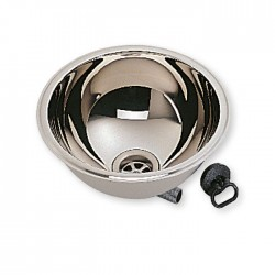 round stainless steel sink basin 285mm