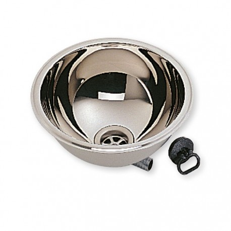 round stainless steel sink basin 285mm