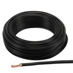 Black Cable 2.5 mm2 indoor installation