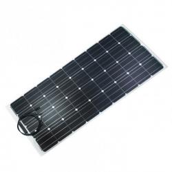 Kit panneau solaire semi-flexible Vechline 120W pour fourgon, caravane ou camping-car