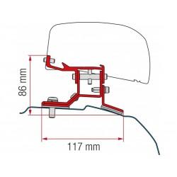 Adaptador Fiamma F40 Van Ford Custom - L2