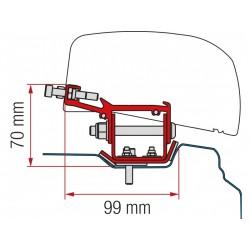 Adaptador Fiamma F40 Van Renault Trafic - L2