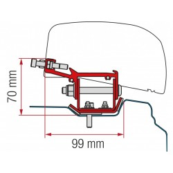 Adapter Fiamma F40 Van Renault Trafic - L2