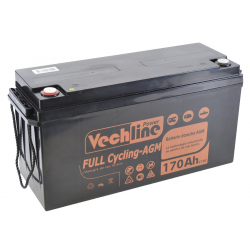 Batteria Vechline plein vélo Agm 170Ah