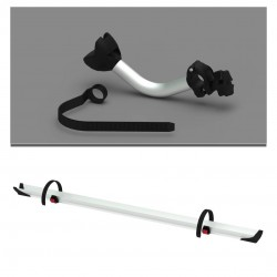3rd Bike Kit Fiamma Rail Quick Pro Black