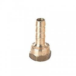 Straight brass fitting Ø10mm and 3/8 female thread