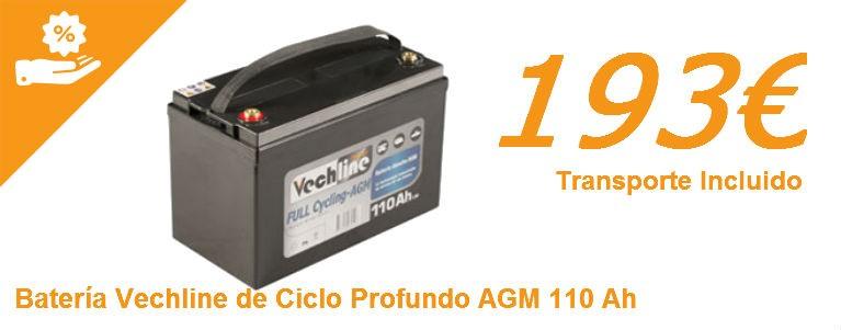 Batería AGM 110AH