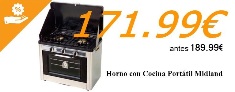Horno Cocina portátil Midland